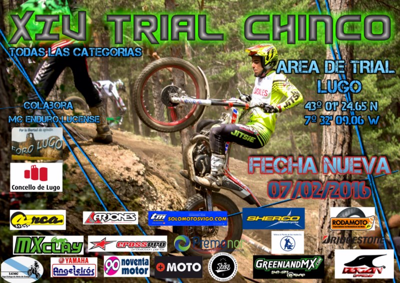 Cronica do Trial Chinco 2016